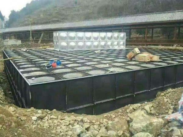 BDF地埋式水箱安装